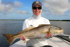 saltwater guide for redfish