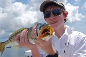 seatrout fishing charters near Disney World