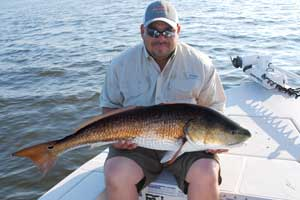 spin fishing for red drum daytona beach