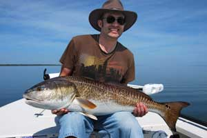 mosquito lagoon red drum fishing