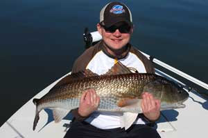 new smyrna beach redfish guide