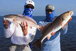 red drum fishing trips