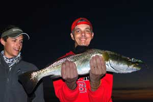 speckled trout fishing charters